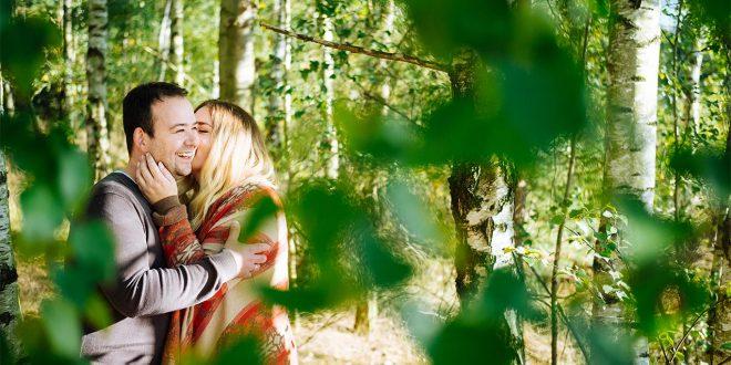 Engagement-Shooting in der Heide. So schön wie ein Gedicht !