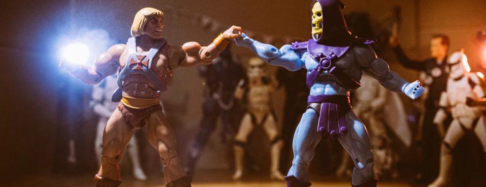 Die Hochzeit von He-Man & Skeletor in Zeiten der Coronakrise